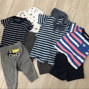 Boys 9m Carter's outfit collection